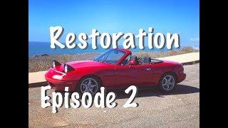 Miata Restoration 2:  Struts, CAS, Gear Oil, Brakes