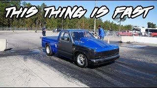 THIS IS TRULY A BAD SMALL BLOCK, SMALL TIRE NITROUS S10! PURE GRUDGE MONSTER!