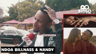 BILLNASS Ndoa yake na NANDY/Mwaka Huu/Hapana/Bugana ni Pesa kwenye Mapenzi yetu/Nampongeza NANDY