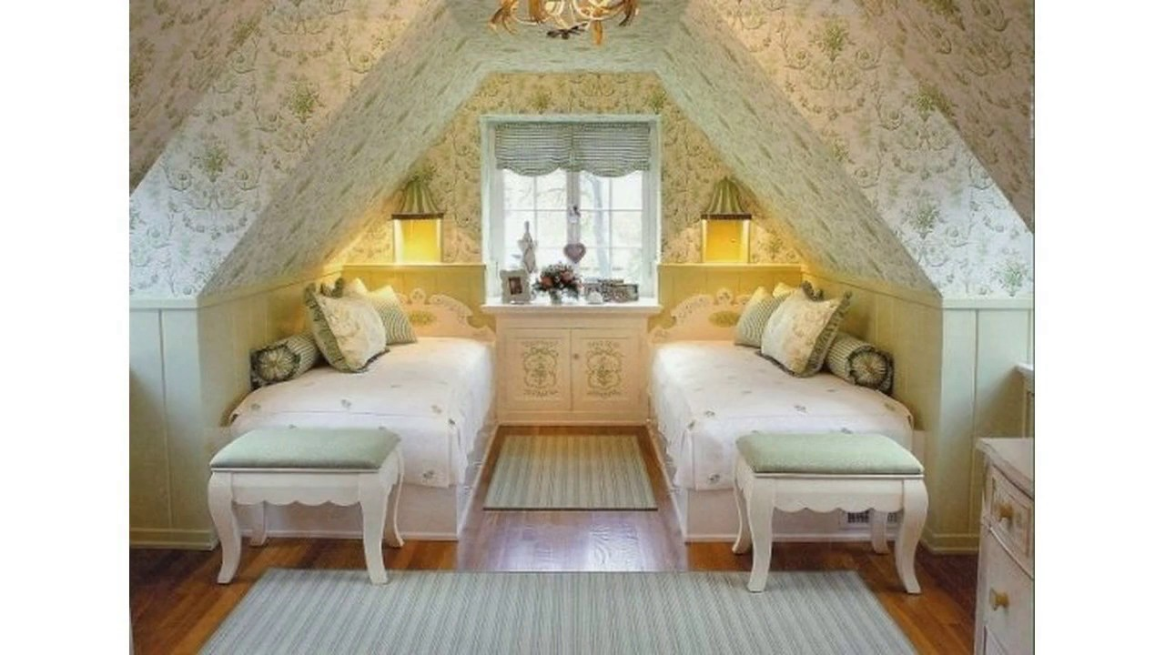 Ideas de decoracin de dormitorio tico  YouTube