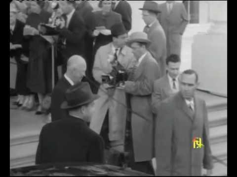 Nehru with US president Dwight D. Eisenhower