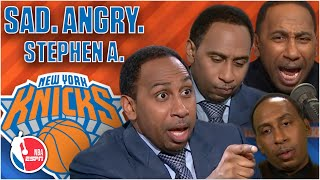 The best of Stephen A.'s Knicks meltdowns, rants and heartbreaks from 2019-20 | NBA on ESPN