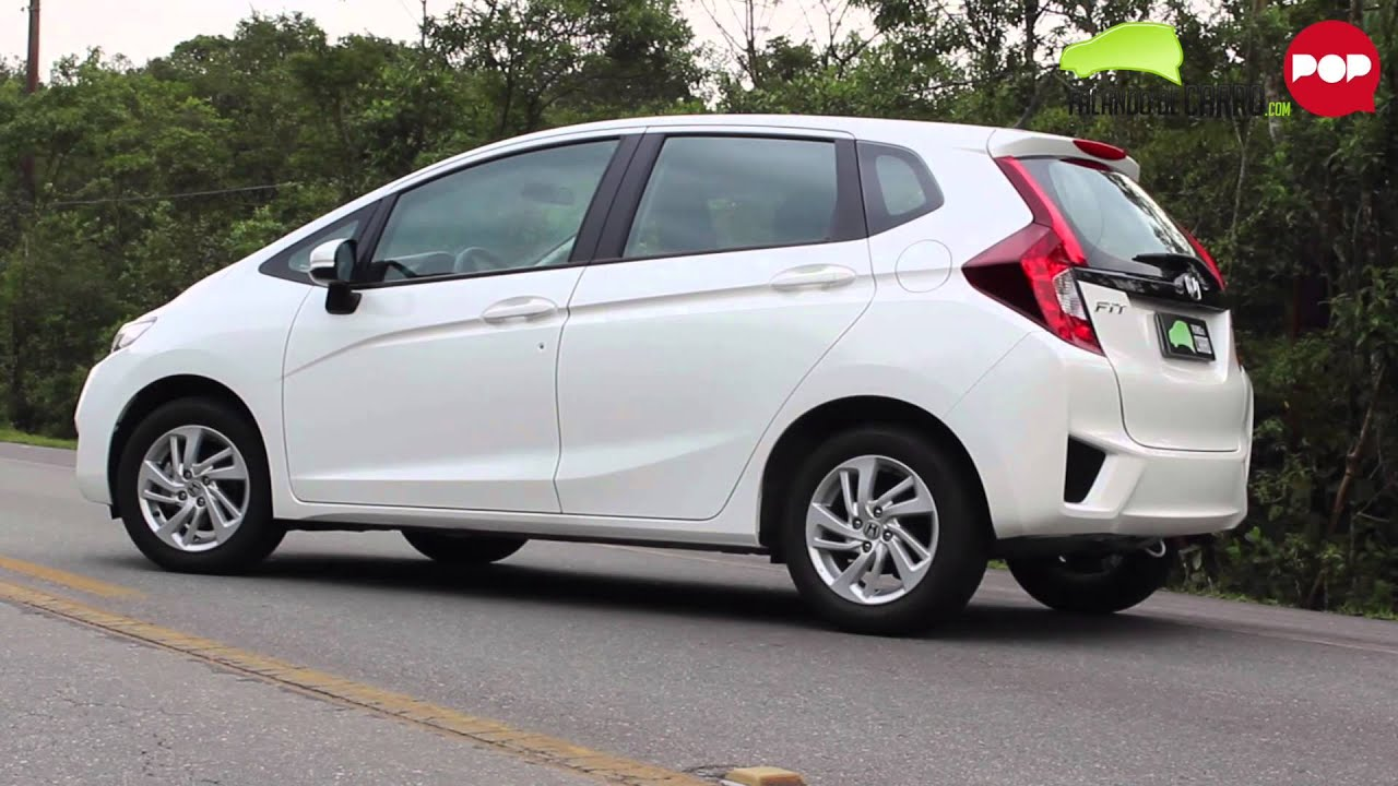 Teste - Novo Honda Fit 2015 - Falando de Carro - YouTube