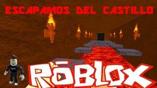 Roblox: Escapamos del castillo