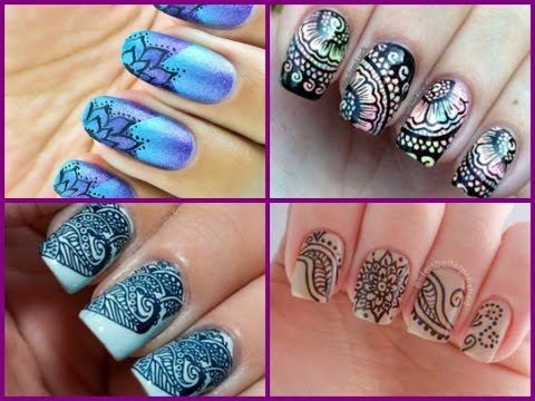 Beautiful nail art 30 ideas in asian style youtube beautiful nail art 30 ideas in asian style prinsesfo Images