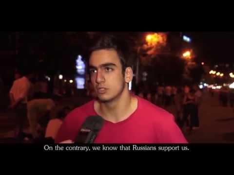 Армяне о майдане и о русских