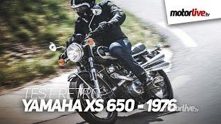 TEST RETRO | YAMAHA XS 650 (1976) - Le premier 4 temps de Yamaha
