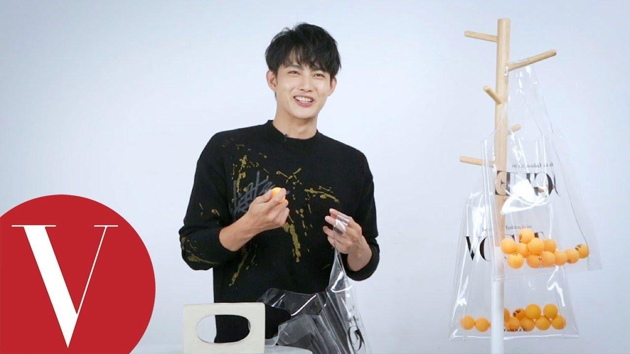 淚腺汗腺同樣發達的水男孩!張庭瑚 Power 10造句大賽  人物特寫  Vogue Taiwan - YouTube