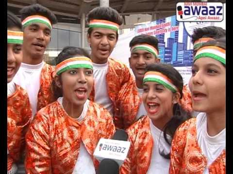 Navi Mumbai Awaaz - CIDCO Wellness N Youth Prg Attended By 10000 Youth