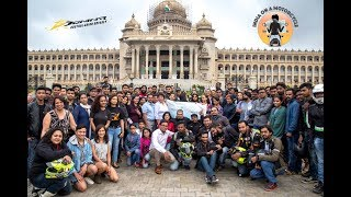 Candida Louis - #Australasian Odyssey : Flag Off From Bangalore