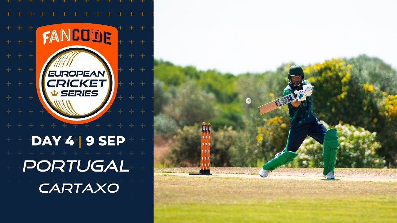 Download 🔴 FanCode European Cricket Series Portugal, Cartaxo Day 4   T10 Live Cricket