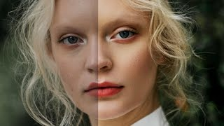 Basic Skin Retouching For Beginners - Photoshop Tutorial