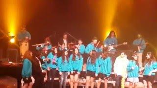 """כולם רוקדים עכשיו - שכבת י""""ב 2016 מגמת מוזיקה תיכון בן צבי"""