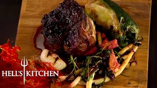 Gordon Ramsay Loving The Food! | Hell's Kitchen | Part One