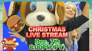 ASK JAPANESE CHRISTMAS LIVE STREAM COMING THIS FRIDAY!