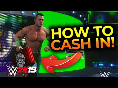 WWE 2K19 - HOW TO CASH IN MITB!!