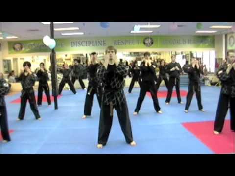 Parks Martial Arts Tae Kwon Dance