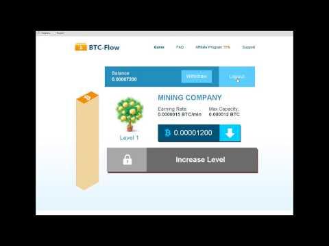 Заработок Биткоинов!!Очень быстро(1 биткоин-240$) Btc-flow-Работает!