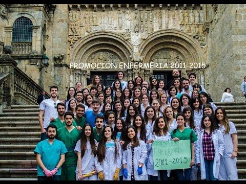 Vídeo graduación enfermería 2011 - 2015 USC (Santiago de Compostela)