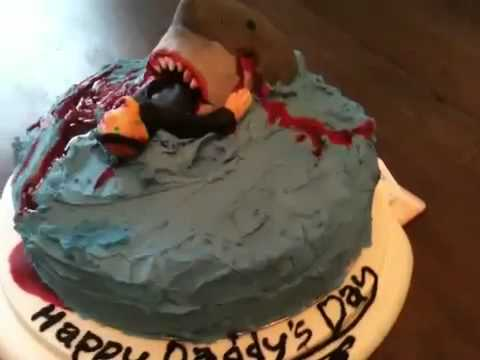 Jaws Inspired Cake For Father S Day Youtube