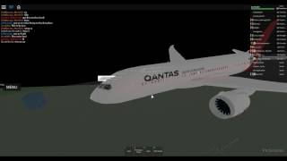 [ROBLOX] Flight on board Qantas.