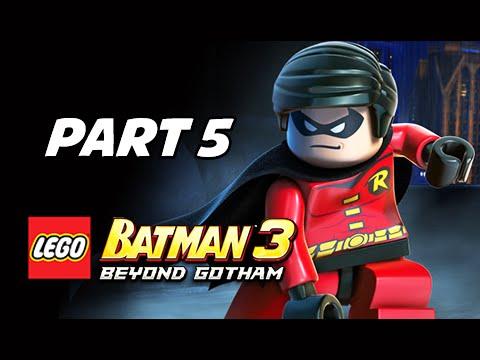 Lego Batman 3 Beyond Gotham Walkthrough Part 5 - Killer Croc ...