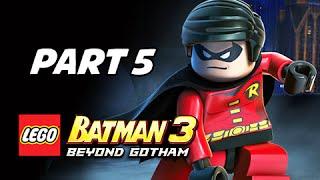 Lego Batman 3 Beyond Gotham Walkthrough Part 5 - Killer Croc & Soloman Grundy (Lets Play Commentary)