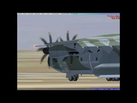 A400M  // Airshow Edwards AFB (FSX)