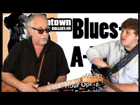 Uptown Music Collective - Bob Margolin 2011 Blues-A-Thon Interview -  Pt 1 of 3 .mpg