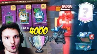 4000 TROPHÄEN GESCHAFFT !! (+ DAS BESTE ANGEBOT GEKAUFT ) | Clash Royale