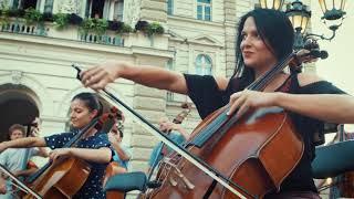 Flashmob, Vojvodina symphony orchestra, Novi Sad