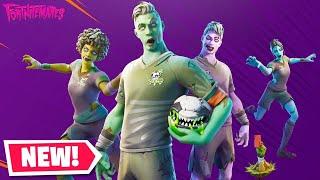 Fortnite Item Shop New Zombie Soccer Skins October 26th