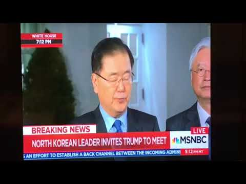 North Korea Agrees To Stop Nuclear Warhead Testing, Meet President Trump In May