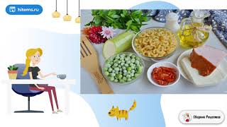 Макароны с цукини козьим сыром и зеленым горошком Домашние рецепты