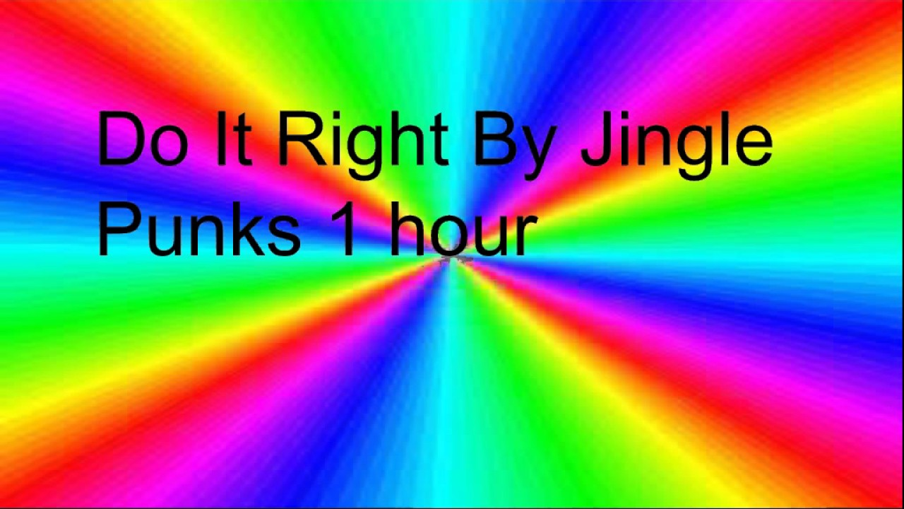 Do It Right By Jingle Punks 1 Hour Youtube