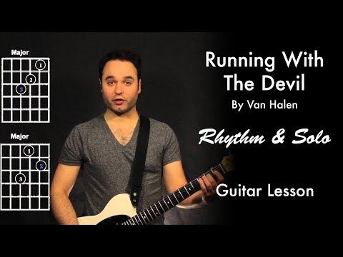 Running With The Devil by Van Halen Tutorial