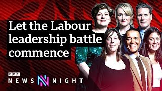 Labour leadership: Is the Labour left still in the driving seat? - BBC Newsnight