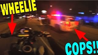 DIRT BIKES RUNNING FROM 24 COP CARS!! (POLICE CHASE)