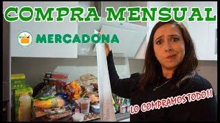 Compra Mensual MERCADONA!