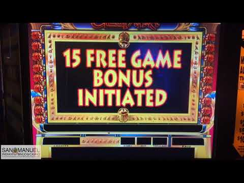 RAJA BREAKS THE MACHINE!! 😱 SO MANY FREE GAMES ON CLEOPATRA!
