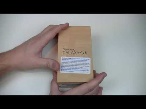 Samsung Galaxy S5 - déballage | par Top-For-Phone.fr