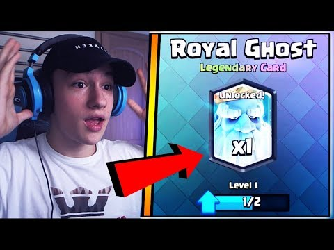 LUĂM ROYAL GHOST DIN DROP LA MECI ?! Clash Royale Romania !