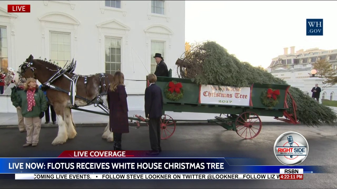 First Lady Melania Trump Receives The 2017 White House