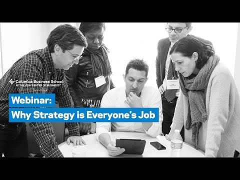 Why Strategy is Everyone's Job