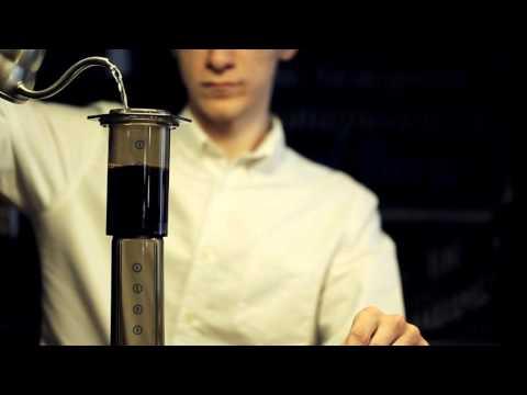 Aeropress (inverted) simple brew guide
