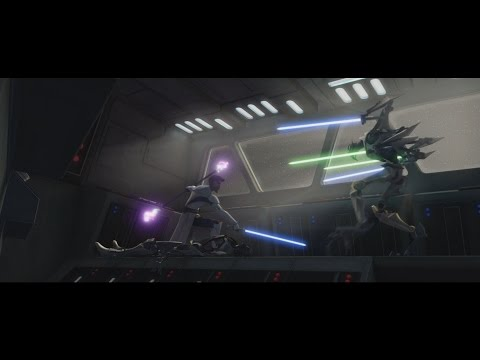 Star Wars: The Clone Wars - Obi-Wan Kenobi vs. General Grievous [1080p]