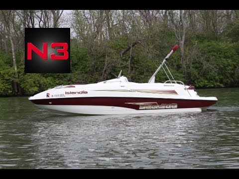 2003 sea doo islandia jet boat on water youtube rh youtube com