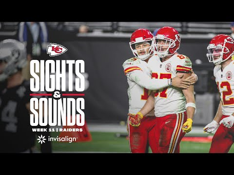 Sights and Sounds from Week 11 | Chiefs vs. Raiders