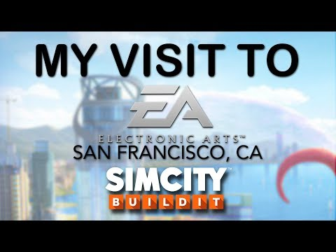 TRAVEL TO EA VLOG: My First Visit to Redwood City EA!