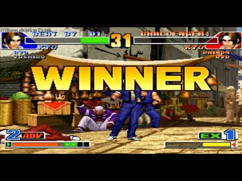 daimon combo HSDM imbloqueable letal KOF 2002 (facil) from YouTube · Duration:  21 seconds